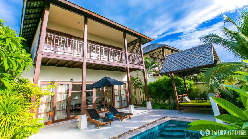 坎達公寓泳池別墅度假村 Kanda Residences Koh Samui