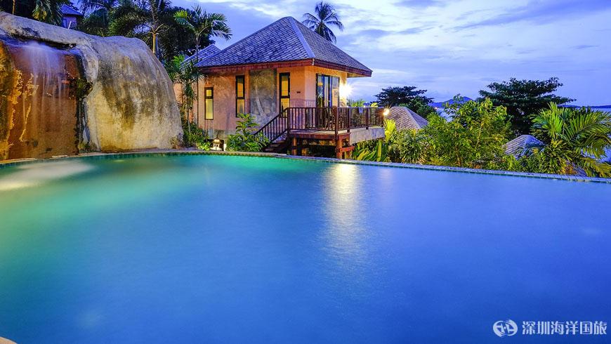 蘇梅島懸崖景觀溫泉度假酒店(克里夫) Merit Resort Samui (Cliffview)