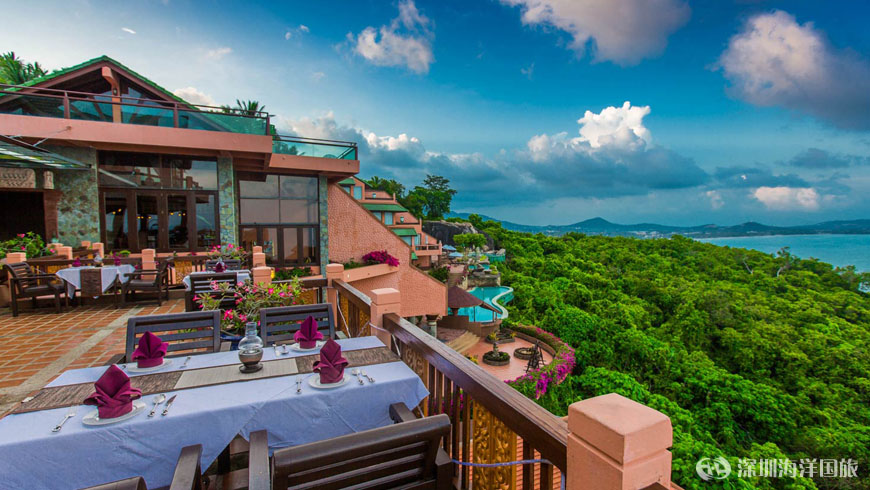蘇梅島云頂水療度假村 Samui Bayview Resort & Spa
